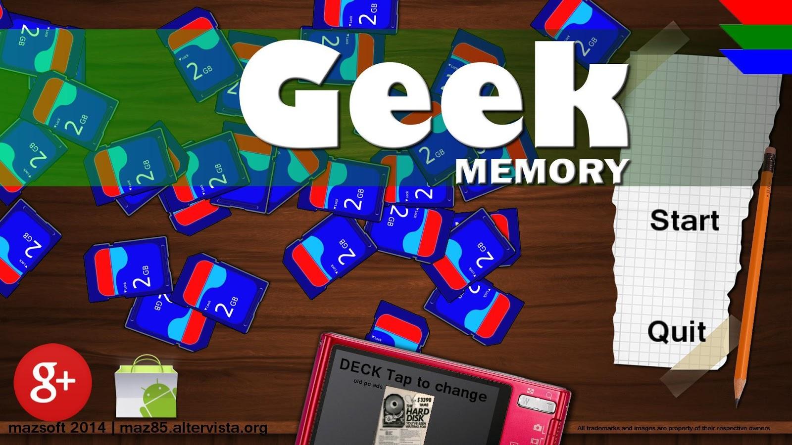 Geek Memory